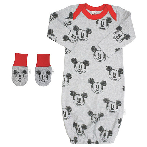 Gown & Mit Set, Mickey