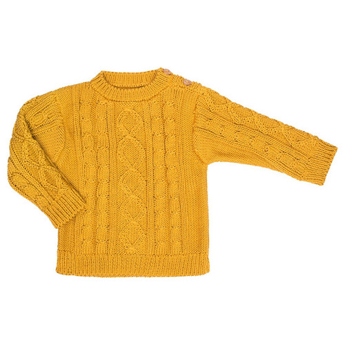 River Sweater, Mustard