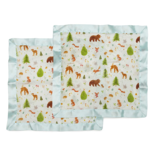 Security Blanket 2-pack, Forest Animals