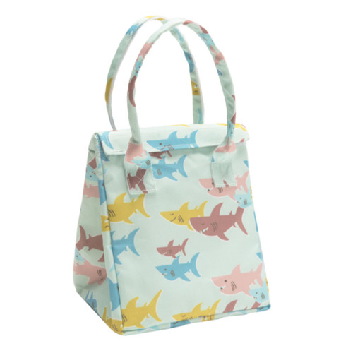 Lunch Tote, Smiley Shark