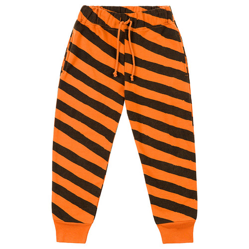 Pant, Orange Stripes