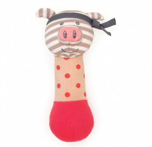 Pork Chop Organic Squeaky Toy