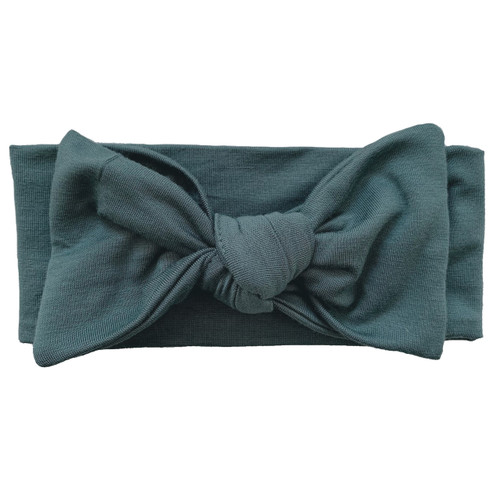 Knot Bow, Winter Emerald