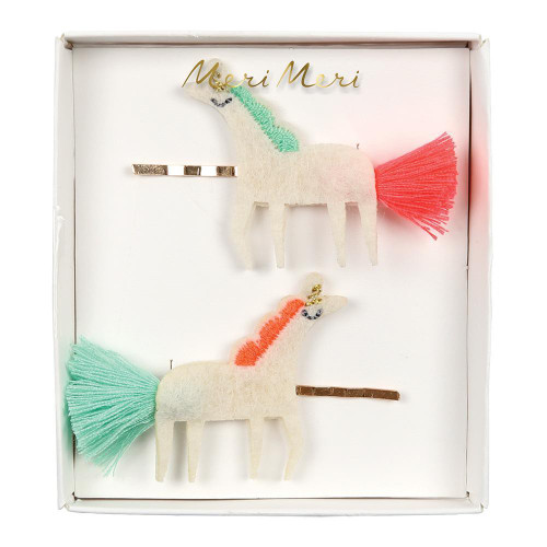 Hair Slides, Unicorns