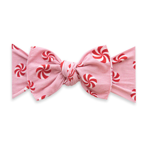 Knot Bow, Pink Peppermint