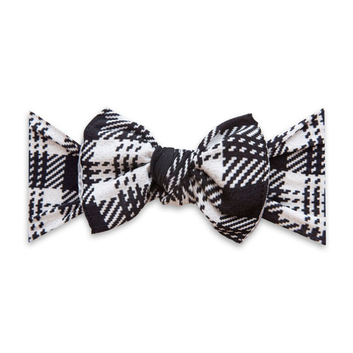 Knot Bow, Knitted Plaid