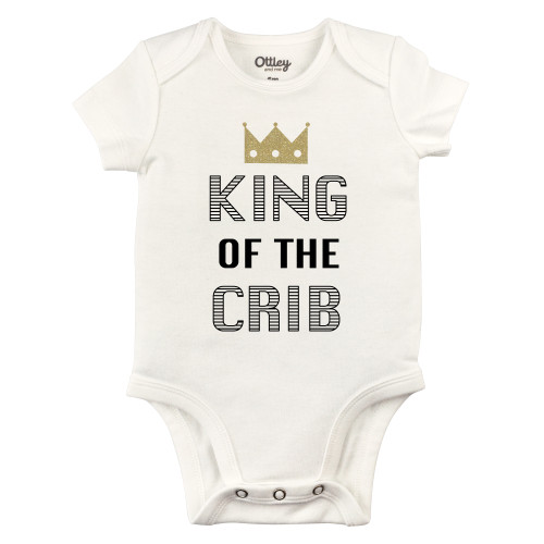 King of the Crib Bodysuit