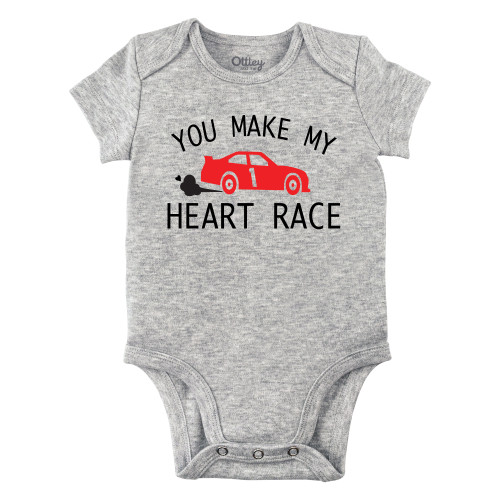 You Make My Heart Race Bodysuit