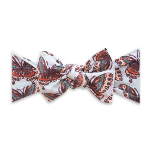 Knot Bow, Vintage Butterfly