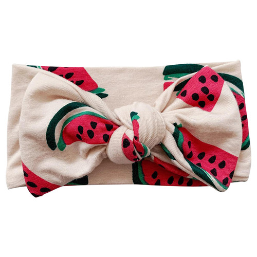 Knot Bow, Watermelon