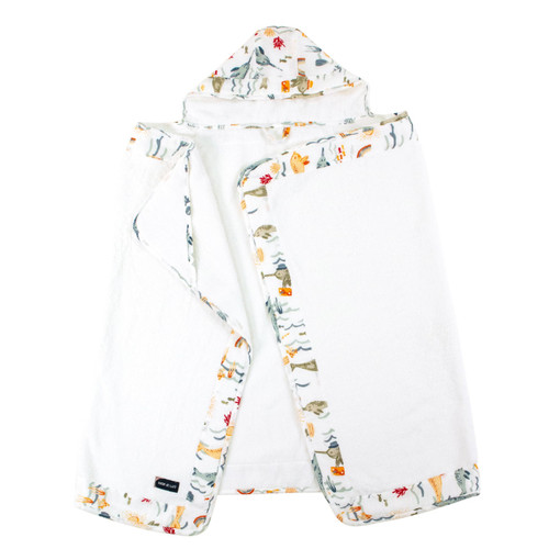 Toddler Hooded Towel, Narwhal