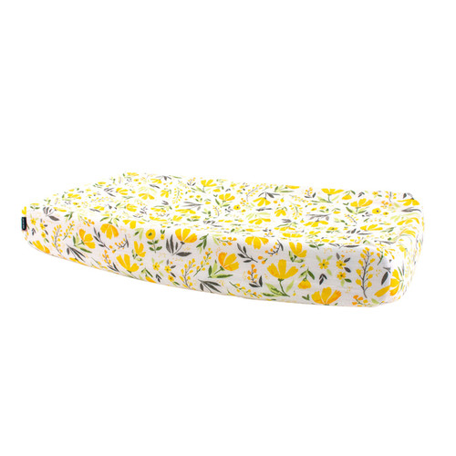 Muslin Changing Pad Cover, Royal Garden
