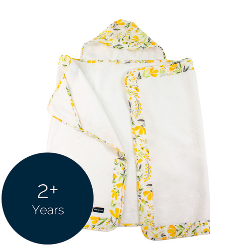 Toddler Hooded Towel, Royal Garden