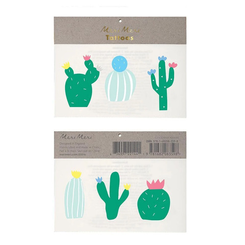 Cactus Kid Tattoos
