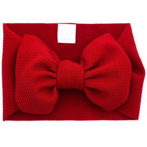 Headwrap Bow, Apple Red