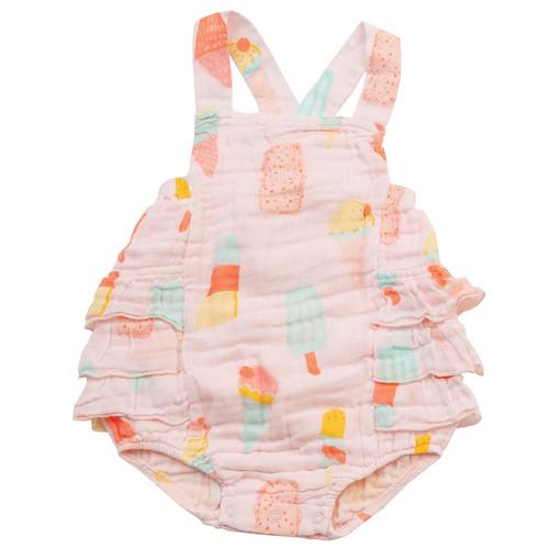 Ruffle Sunsuit, Cool Sweets