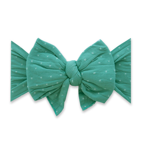 Enormous Bow, Teal Dot