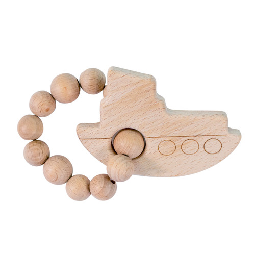 Wood Teether, Boat