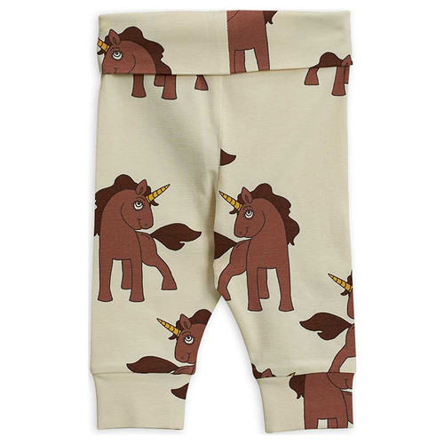 Mini Rodini Newborn Leggings, Unicorns