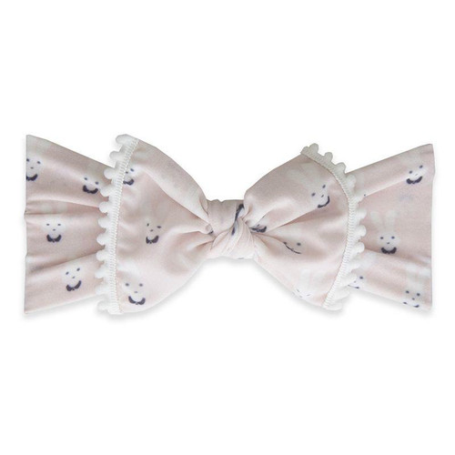 Trimmed Knot Bow, Bunny