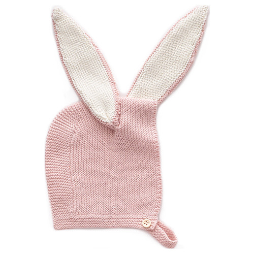 Oeuf Bunny Bonnet, Light Pink