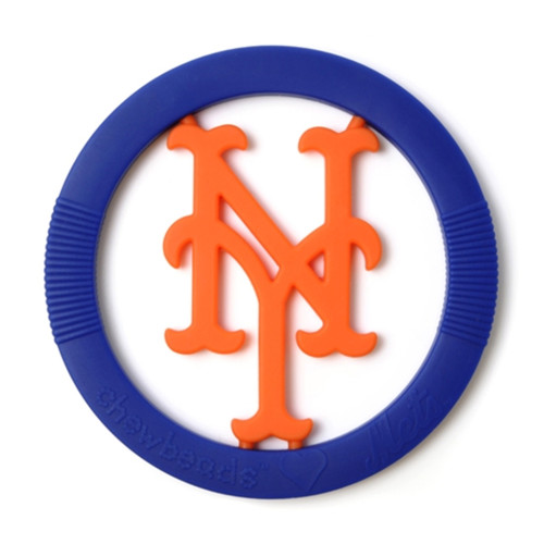 MLB Silicone Teether, New York Mets