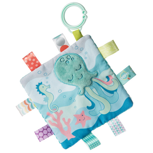 Taggies Crinkle Stroller Toy, Sleepy Seas Octopus