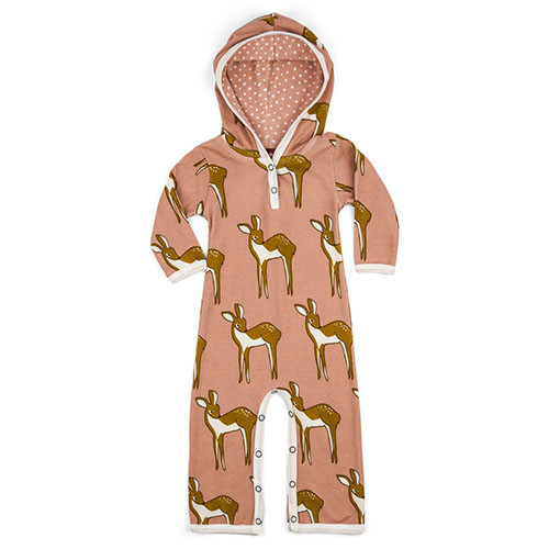 Rose Doe Hooded Romper