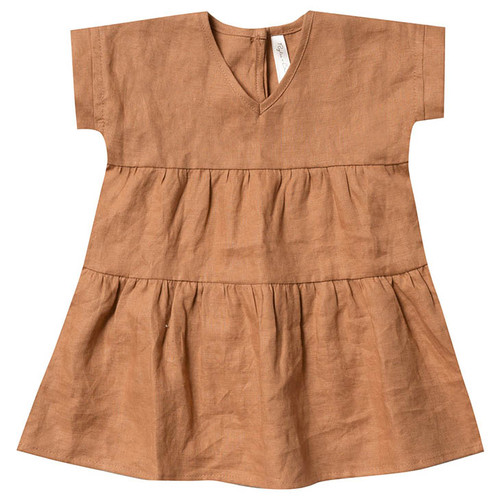 Rylee & Cru Vienna Dress, Bronze