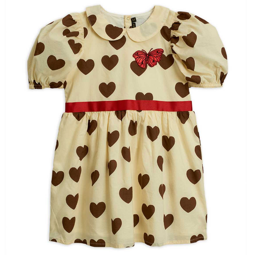 Mini Rodini Hearts Woven Dress
