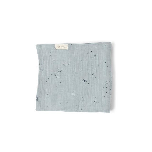 Organic Cotton Burp Cloth, Rocketman