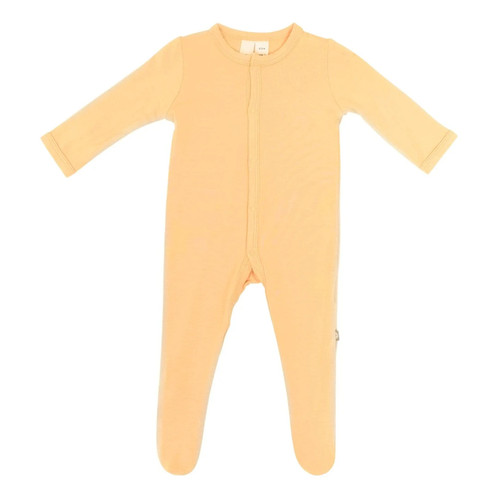 Bamboo Footed Romper, Honey