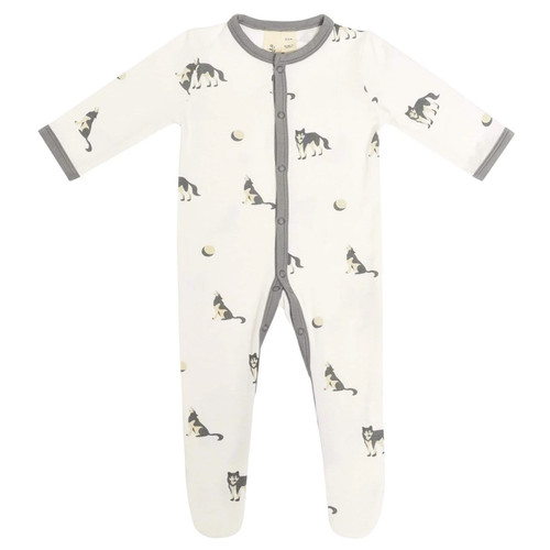 Bamboo Footed Romper, Howl