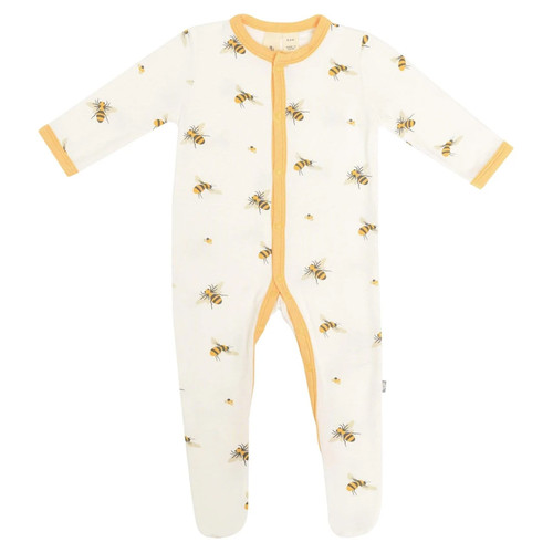 Bamboo Footed Romper, Buzz