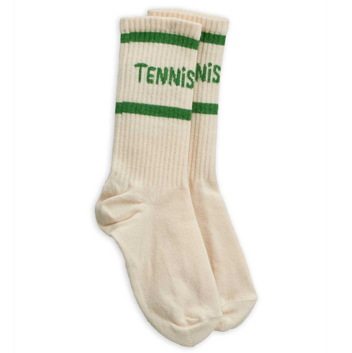 Mini Rodini Tennis Socks, Off White