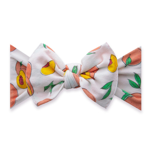 Knot Bow, Just Peachy