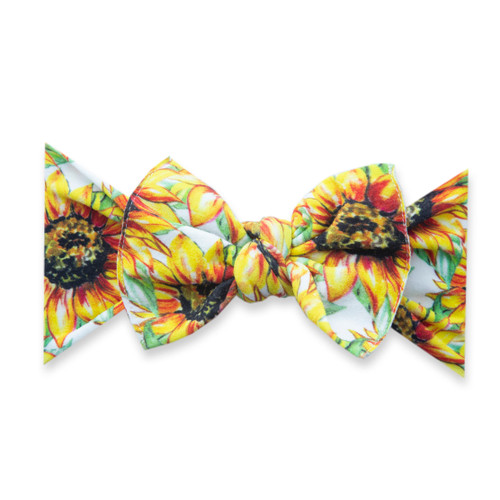 Knot Bow, Golden Sunflowers
