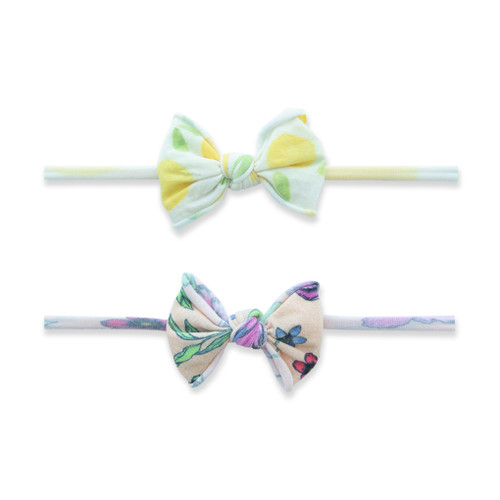2-Pack Bow Set, Sweet Citrus