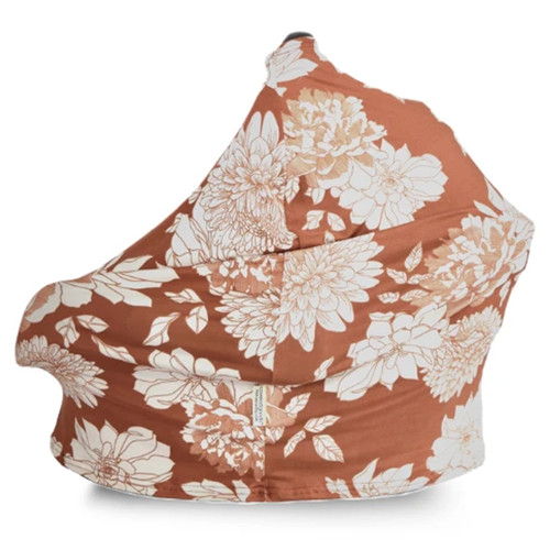 Covered Goods Multi Use Car Seat Cover, Copper Blossom
