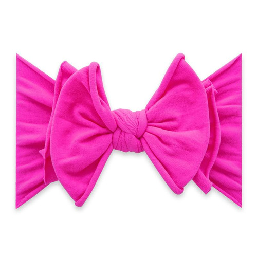 FAB-BOW-LOUS Bow, Neon Pink