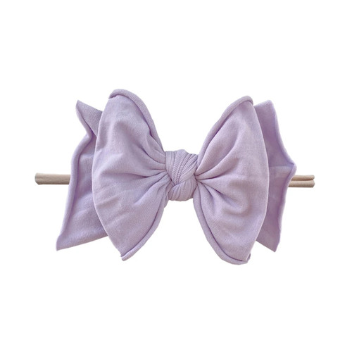 FAB-BOW-LOUS Skinny Bow, Light Orchid