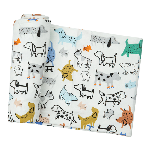 Bamboo Swaddle, Cool Pups