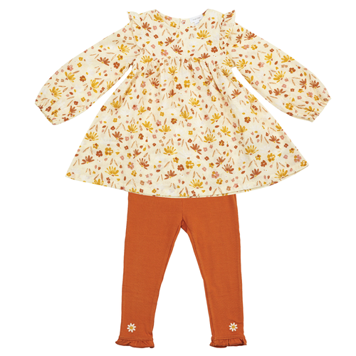 Dress & Legging Set, Daisy Baby