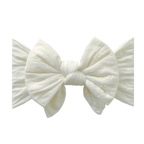 Enormous Bow, Ivory Dot