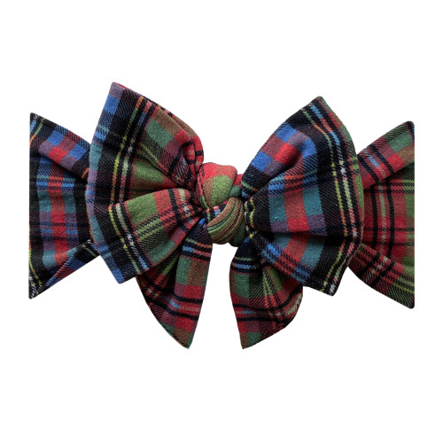 Enormous Bow, Holiday Plaid