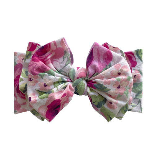 FAB-BOW-LOUS Bow, Pink Rose