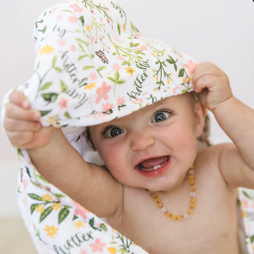 Baby Hooded Towel, Flutterby