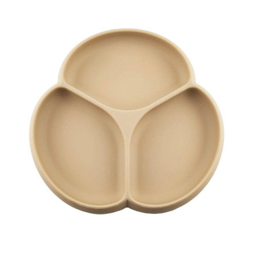 Silicone Suction Plate, Barely Nude