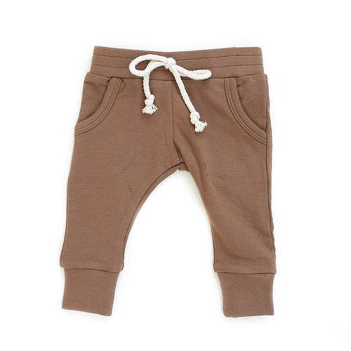 French Terry Joggers, Camel