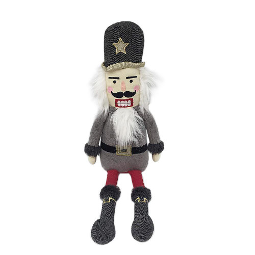 Nutcracker Plush Shelf Sitter